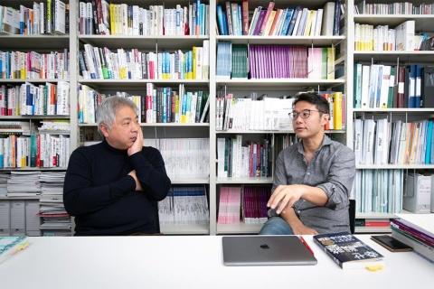富永朋信氏と入山章栄氏
