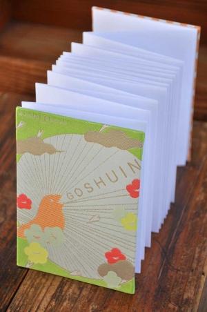 「kichijitsu GOSHUINノート」光織物