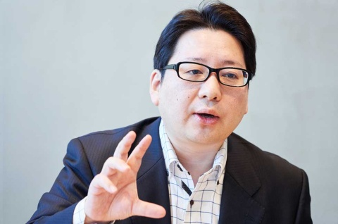 LINE取締役CSMO(チーフ・ストラテジー・アンド・マーケティング・オフィサー)の舛田淳氏