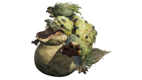 ヨツミワドウ。食欲旺盛で、食べると動きが鈍くなるが、その分、攻撃の破壊力が上がる