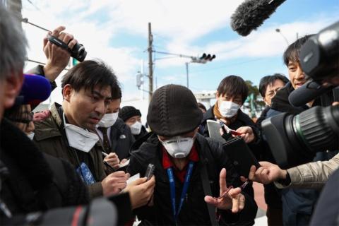新型コロナ対策の1つとしてテレワークを実施するテレビ局が増えているが、連日新たなニュースが発生。取材現場では、人員をなんとかやり繰りしながら、未曾有の事態への対応を続けているという(写真:Takashi Aoyama / 特派員)