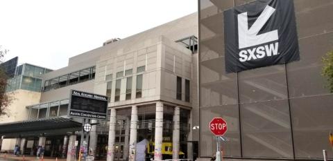 SXSWのメイン会場であるコンベンションセンター(2019年3月、米テキサス州のオースティン)