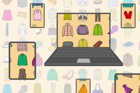 SNSやECサイトの普及により、今や思い立ったらすぐに自分のブランドをつくることができる(画像/Shutterstock)