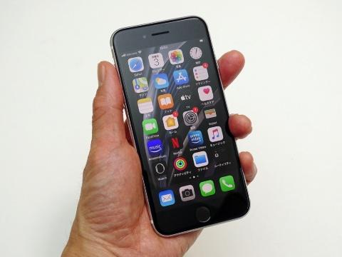 約4.7インチの新iPhone SEも片手持ちで画面を正確かつスムーズに操作できる
