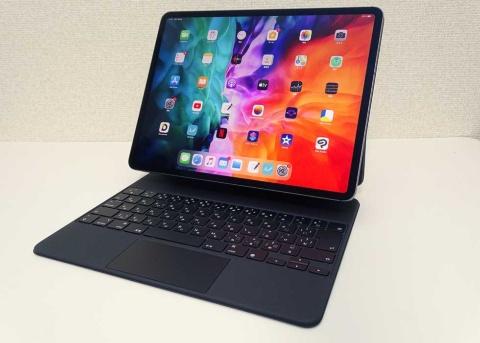 12.9インチのiPad Proに新しい専用キーボード「Magic Keyboard」を装着