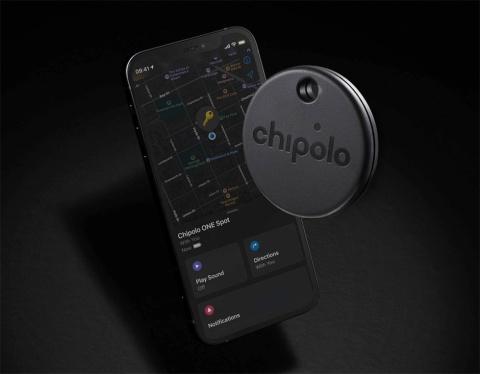 Chipolo ONE Spot。「探す」ネットワークによる追跡に対応している