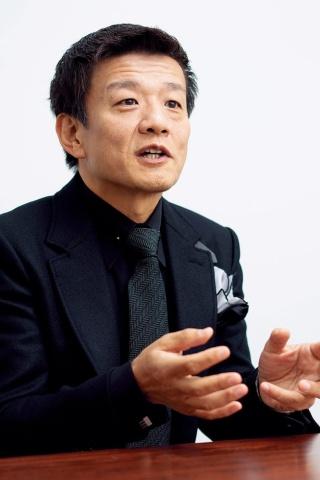 「沖縄を元気にすることが日本を元気にする」と強調する「刀」の森岡毅氏。メジャー出資に踏み切ることで不退転の覚悟を改めて示す