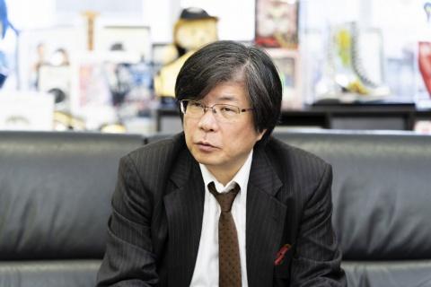 ブシロードの創業者でIP開発の陣頭指揮を執る木谷高明取締役