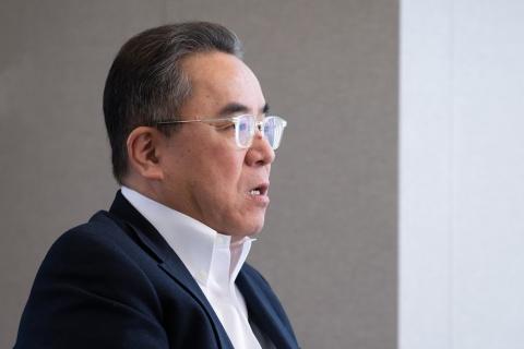 「ゲームコミュニティーに向けたプロモーションが重要」と語る松田氏