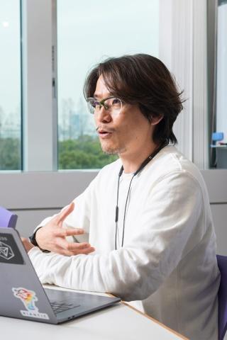 「デジタルと現実世界をARで融合し、もっと密接なものにしていきたい」と話す村井氏