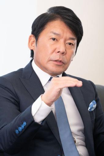 カプコン代表取締役社長 最高執行責任者(COO)の辻本春弘氏
