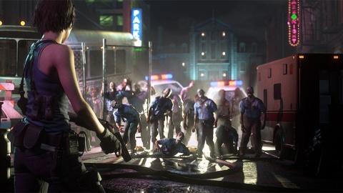 『バイオハザード RE:3』(c) CAPCOM CO., LTD. 1999, 2020 ALL RIGHTS RESERVED.