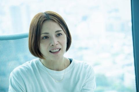 『モンスト』事業全体を率いる執行役員の根本悠子氏