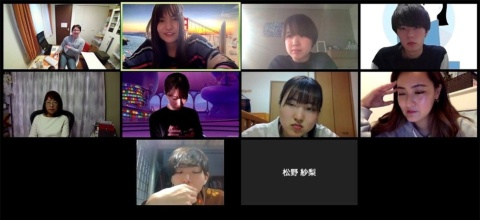 2020年4月、dot(東京・渋谷)の協力を得てZ世代を集めたオンライン座談会を実施。Z世代は、写真最上段の右端(けい)、上から2段目の右から2番目(らいらい)、同2段目の右端(しほ)、最下段の左側(タケちゃん)の4人