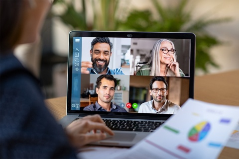 マーケターの在宅勤務「快適度」は平均65.5点(写真/Shutterstock)