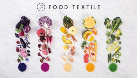 1つの食材から取れる同じ成分でも、処理によって違う色が得られ、現在では50の食品から抽出した500色を保有している