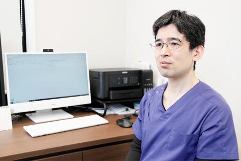 太田氏はデジタル活用でクリニックの滞在時間の短縮化の実現が重要だと語る