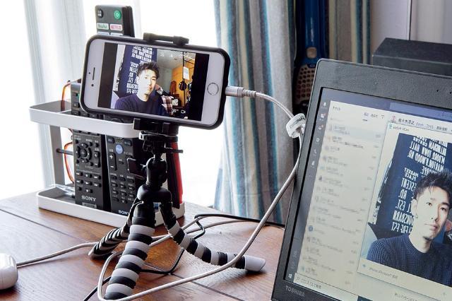 カメラ 代用 ウェブ スマホ