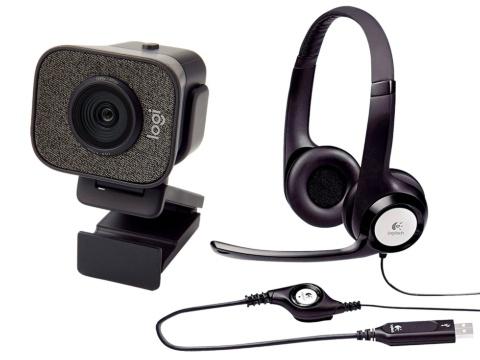 有線ヘッドセットにウェブカメラ… 必携ビデオ会議グッズ(画像)