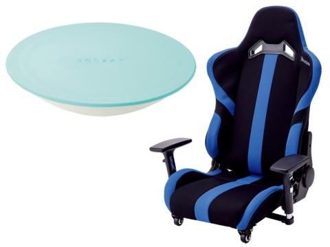 テレワーク中の腰痛はこれで撃退 ゲーミング座椅子に昇降デスク(画像)