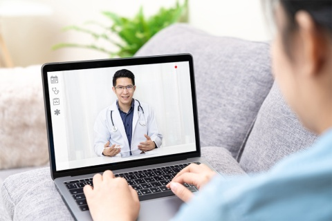 遠隔診療のイメージ(写真/Shutterstock)