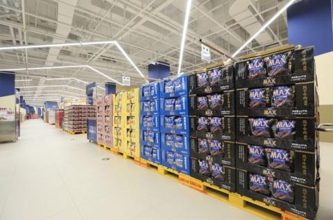 会員制倉庫型店舗フーマーXの店内の様子(画像はアリババのニュースリリースより)