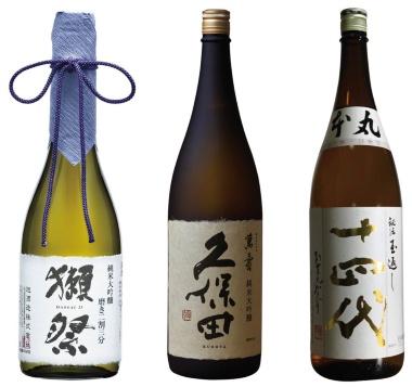 「接待で使いたい」&「一番おいしい」日本酒トップ3