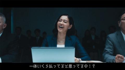 ラクスルが提供するテレビCM効果最適化サービス「ノバセル」の動画広告は、テレビCMの効果は分からないと言い切る部下に対する社長の悲痛な叫びが印象的だ