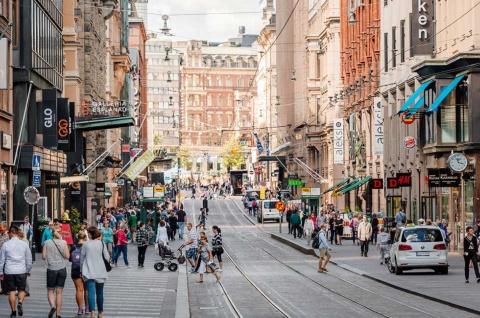 フィンランドの首都・ヘルシンキの人口は約64万人(写真提供/Helsinki Marketing)