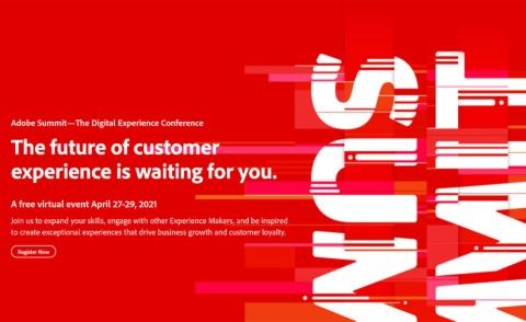 【4~5月】Adobe Summit 2021ほか 注目のセミナーカレンダー(画像)