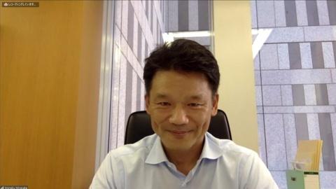 東京都副知事の宮坂学氏。Zoomによるインタビューを行った