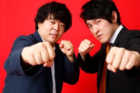 宮下兼史鷹(右)と草薙航基(左)