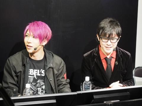 インテルが2019年12月に東京・秋葉原で開催したeスポーツイベント「UNLEASH YOUR BRILLIANCEキャンペーン連動イベント in Tokyo」にもゲスト出演した。右隣はゲーム実況者のアール氏(写真/岡安 学)