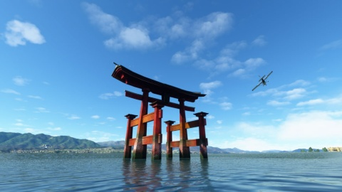 『Microsoft Flight Simulator』では日本をモチーフにした大型アップデートが提供される(写真提供/日本マイクロソフト)