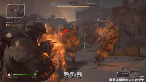 2~3人でチームを組んで戦うゲーム。ソロプレーも可能(出所/OUTRIDERS BROADCAST JAPAN)