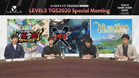 左からアメリカザリガニ・平井善之さん、増田俊樹さん、日野晃博氏、ゲームディレクターの栗秋寿彦氏