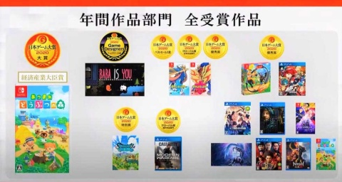 日本ゲーム大賞、令和初の作品は『あつまれ どうぶつの森』【TGS2020】(画像)