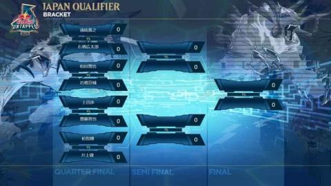 決勝トーナメントに残ったファイナリスト8人