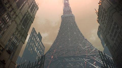 『スカーレットネクサス』のゲーム中には現在の日本にもあるような景色が描かれている