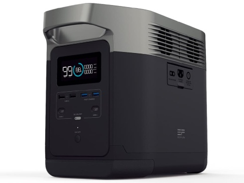 EcoFlow Technology Japanの「EFDELTA」は容量1260Wh。実勢価格15万9500円(税込み)と高額だが人気だ