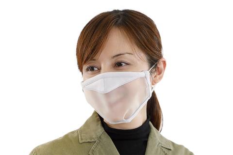 「透明マスク」なら飛沫の拡散抑制とコミュニケーションを両立できる