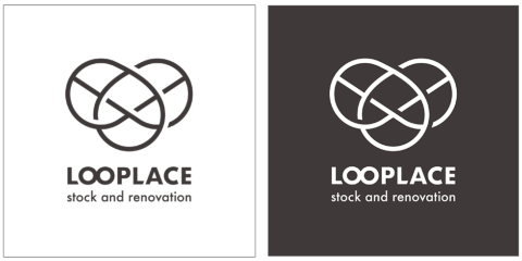 「LOOPLACE」(ループレイス)は、2020年1月、成和から社名を変更した。新しいシンボルマークは、祝儀袋の「水引」をイメージしている