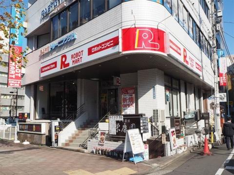東京都中央区の無人コンビニをコンセプトとした「ロボットマート」。この他に福岡市の博多マルイでも出店している