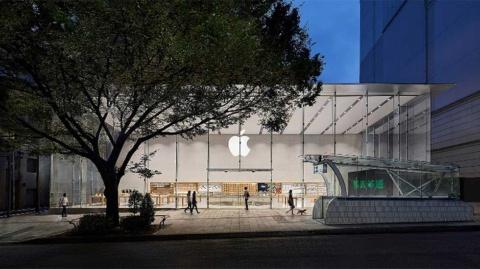 東京・表参道にあるApple Store(https://www.apple.com/jp/retail/omotesando より)