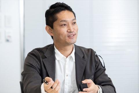 「戦略企画部の役割は非常に重要になる」とi.labマネージングディレクターの横田幸信氏(写真/丸毛 透)