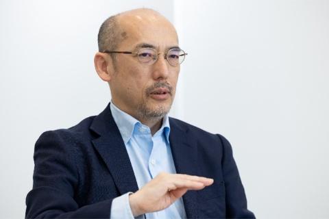 LIXILテクノロジーイノベーション本部リーダーの迎 宇宙氏(写真/丸毛透)