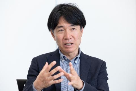 戦略企画部戦略デザイングループリーダーの桝 泰将氏(写真/丸毛透)
