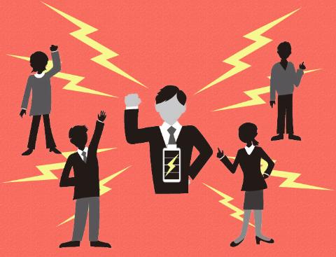 「ダイナモ人」のイメージ。自ら考えて動く人材が、日本企業を救う