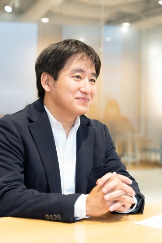 グリーエンターテインメントの代表に就任した小竹讃久氏