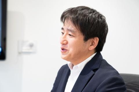 「2021年内にグリーエンタ初のタイトルをリリースしたい」と話す小竹氏